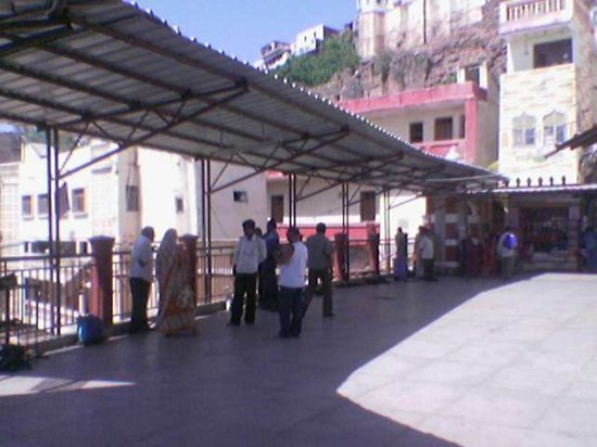 Shri Omkareshwar Jyotirlinga: The inside view of temple ground