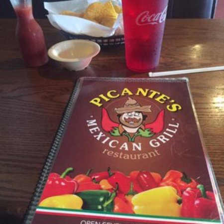 Raymond, Миссисипи: Picante's Mexican Grill