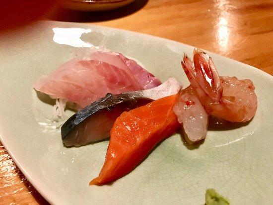 Torimatsu: Complimentary appetisers