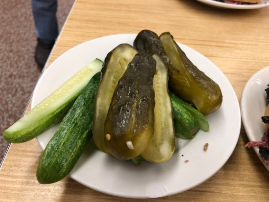 Katz's Deli: can't get enough of these pickles