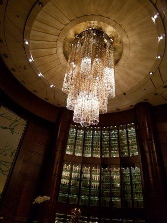 Shangri-La Hotel Chengdu: Shangri-la Chengdu Lobby Bar Ceiling