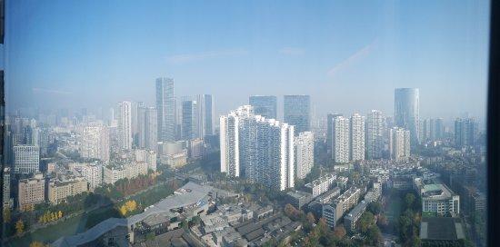 Shangri-La Hotel Chengdu: Shangri-la Chengdu 34th Floor Room View