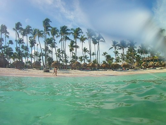 Club Med Punta Cana A View Of The Beach From Water Sorry For