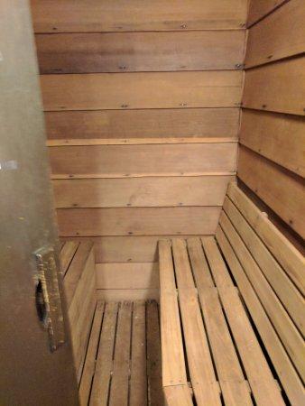 Ramada by Wyndham Lethbridge: the sauna