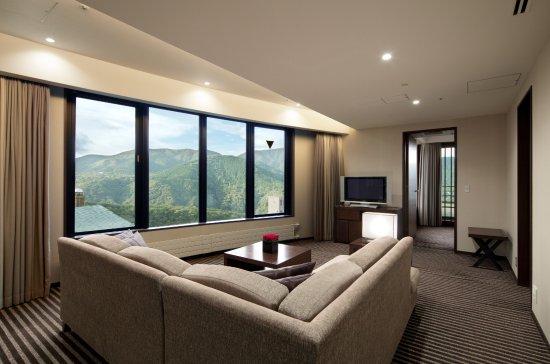 Hyatt Regency Hakone Resort and Spa: リージェンシースイートツイン
