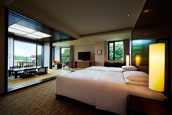 Hyatt Regency Hakone Resort and Spa: リージェンシースイートツイン&タタミ