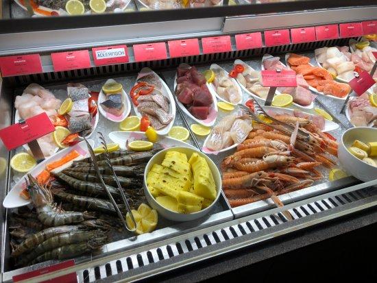 Saga Khan: Seafood Auswahl
