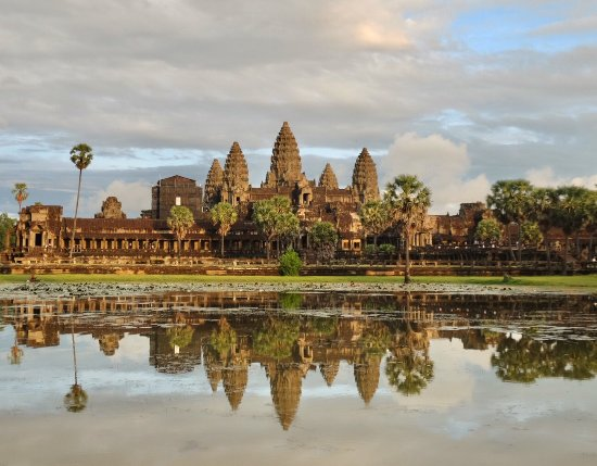 Angkor Wat: In the evening