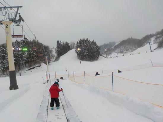 White Pia Takasu Ski Area: 動く歩道