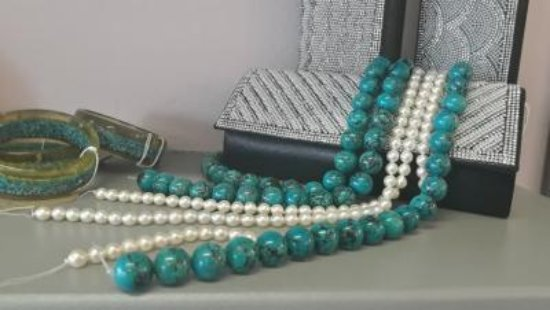 The Pearl Lady: Stones and Pearls