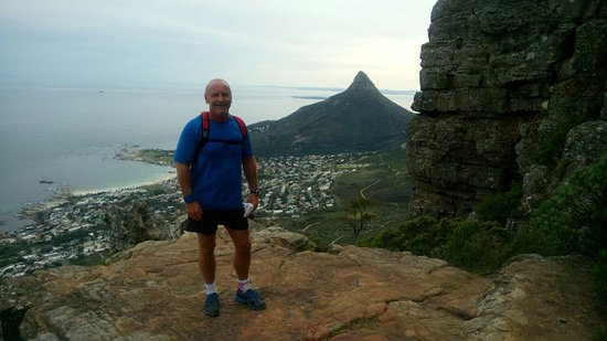 Table Mountain: Ravine completed Lions 🦁 Head in the background