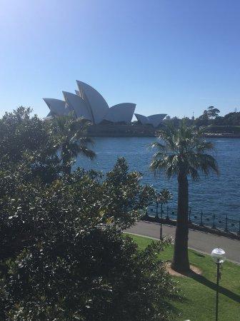 Park Hyatt Sydney: From the balcony of my 212 suite