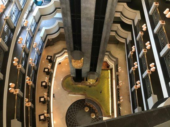 Labourdonnais Waterfront Hotel: vue de l'hôtel (du 6eme étage)