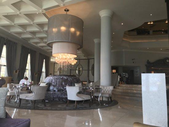 Labourdonnais Waterfront Hotel: juste avant d'aller aux restaurants