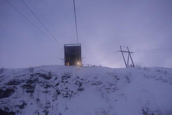 Fjellheisen Tromso: der er vi nesten fremme