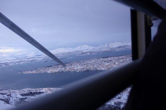 Fjellheisen Tromso: fra heisen