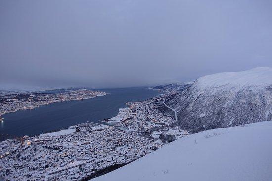 Fjellheisen Tromso: vakker utsikt