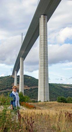 Viaduc de Millau: вид от трассы D41А