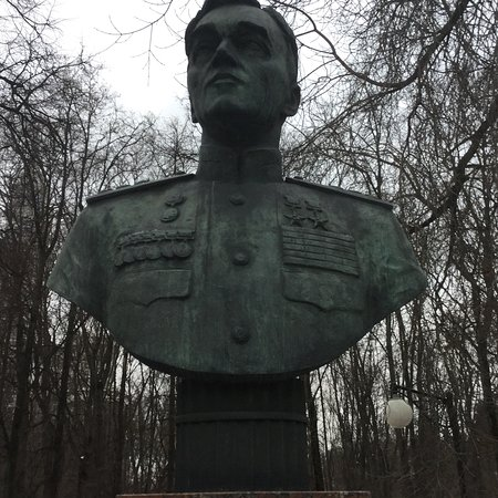 Monument-Bust to Aircraft Designer Yakovlev