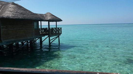 Fihalhohi Island Resort: Водные виллы
