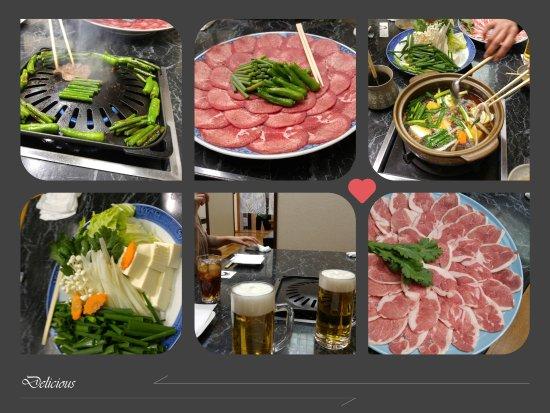 Akihiro-Tei: 鴨鍋コース 牛タン焼き付きがお得です♪