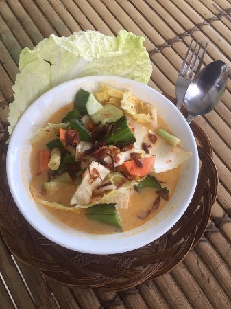 Hello Lumbung Warung: Vegetable white curry it's so delicious