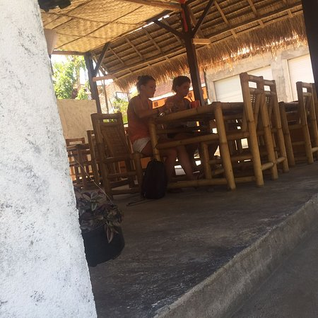 Hello Lumbung Warung: My guests they were enjoying their lunch