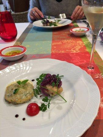 Ristorante da Nino: 前菜・鴨と蓮根