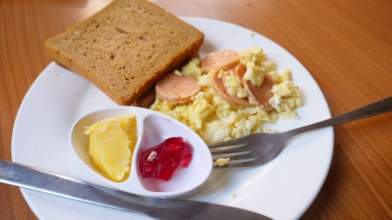 Thamel Backpackers Home: Breakfast is very delicious!!