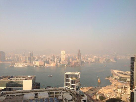 Conrad Hong Kong: View from the executive lounge