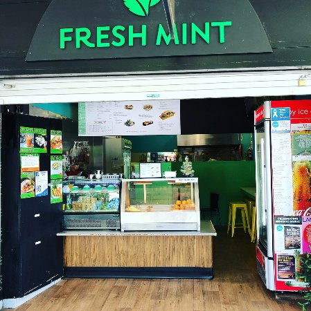 Outside shot of Fresh Mint