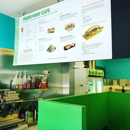 Fresh Mint: Vietnamese street food in Bendigo - The menu