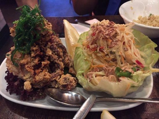 Bangkok Bites: Soft shell crab with papaya salad