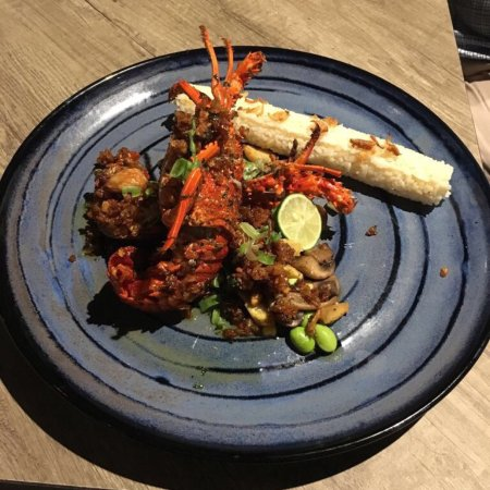 Verve Bistro & Coffee Bar: Larry the lobster