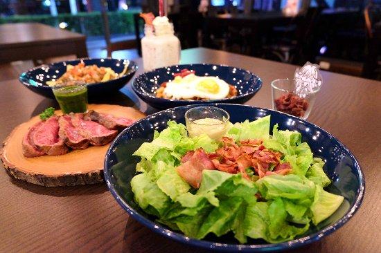 Caveman Base: lots of good food