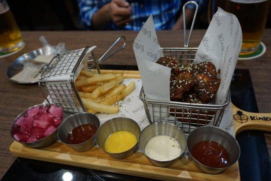CentralMarina: Korean style food