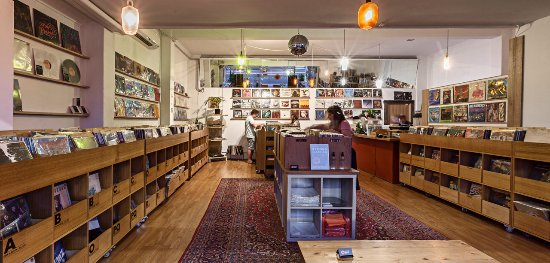 Abbotsford, Australia: Dutch Vinyl Record Store interior