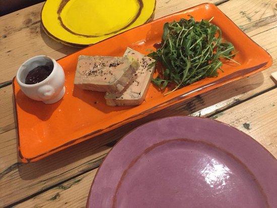 Au Coeur du Panier: foie gras mi cuit maison