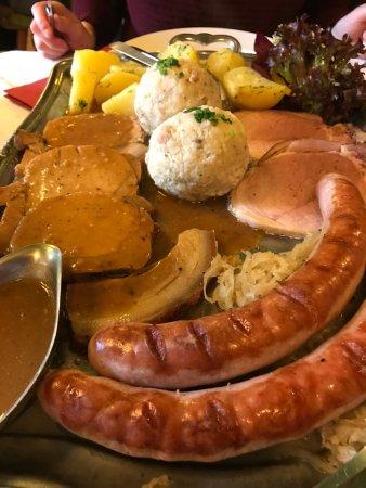 Gasthof Hofwirt: Bauernplatte
