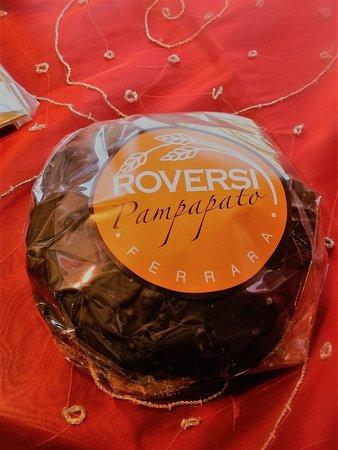 Panificio Roversi: Il nostro Pampapato, da noi prodotto artigianalmente secondo il disciplinare IGP