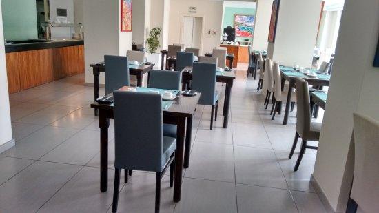 Argento Hotel: Área interna do café da manhã