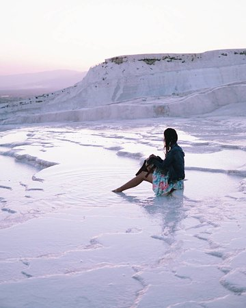 Travel Bazaar: Feel paradise in Pamukkale in theremal pool