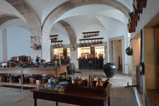 Park and National Palace of Pena: Particolare della cucina
