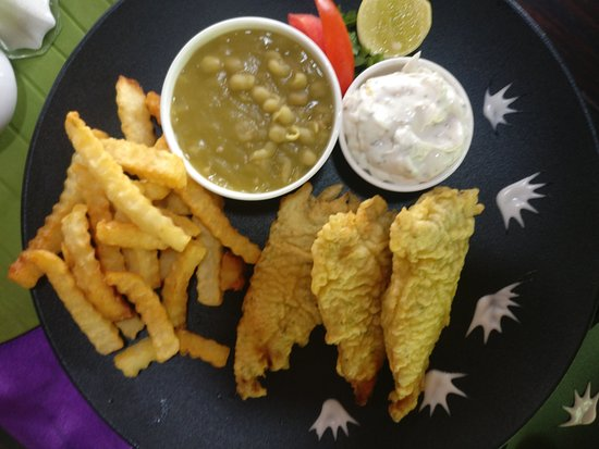Cafe Lazy Days: Fish and Chips