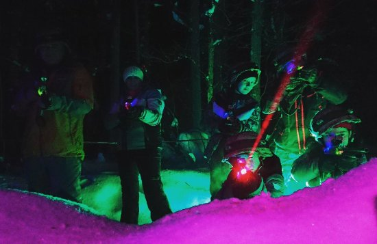 Winter Laser World - Levi: Talvi Lasermaailma