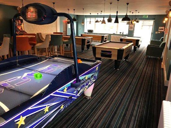 The Waterfront Inn Bar & Restaurant: Quaterdeck Games Room