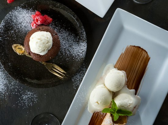 The Hussar Grill Mouille Point: Dessert Variety