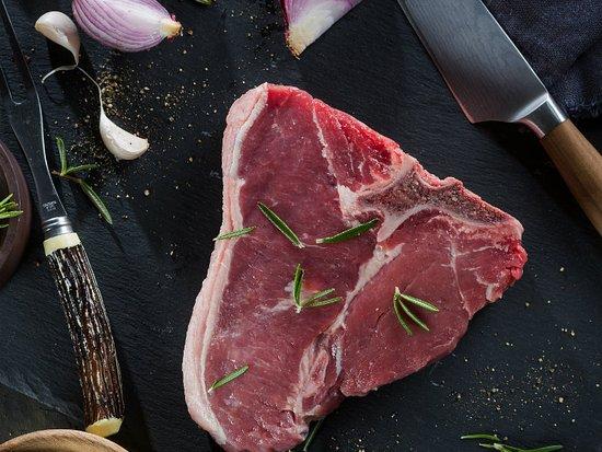 The Hussar Grill Mouille Point: T-bone Steak