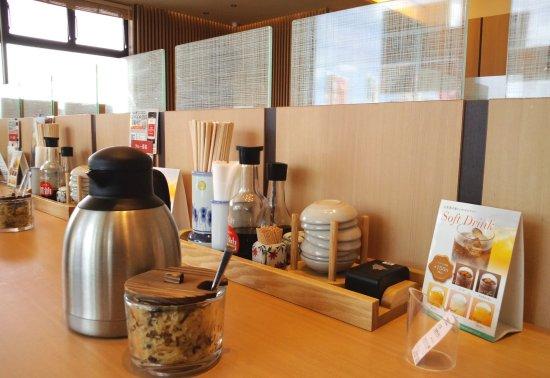Yayoikenzafuoresutomorunagoten: 17/02/03 カウンター席.