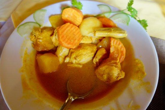 Mango Cruises: carne de cerdo con vegetales.
